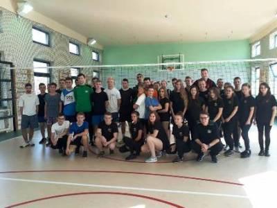 Trening z AZS Częstochowa