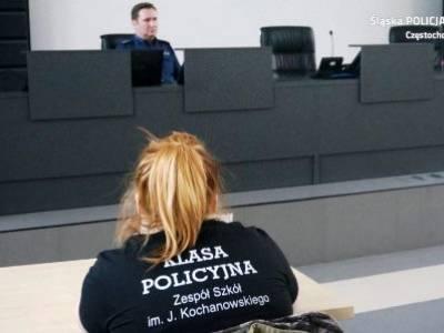 Wizyta w Komendzie Miejskiej Policji w Częstochowie