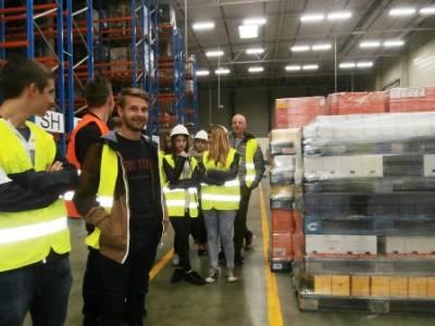 Wycieczka do Raben Logistics Polska