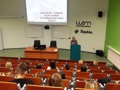 Konferencja w WOM-ie