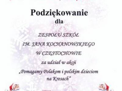 Pomoc Polakom na Kresach