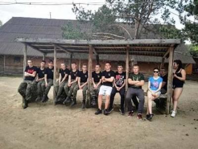 Obóz szkoleniowy klas pierwszych